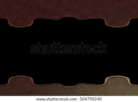 Faux Leather Template