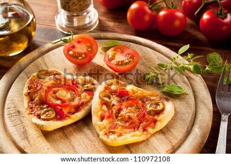 favorite dish - stock photo