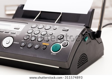 Fax Machine Stock Images, Royalty-Free Images & Vectors | Shutterstock