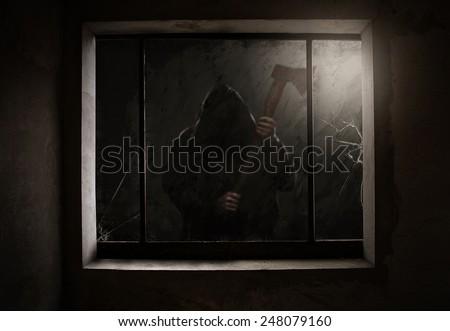 Fear - stock photo