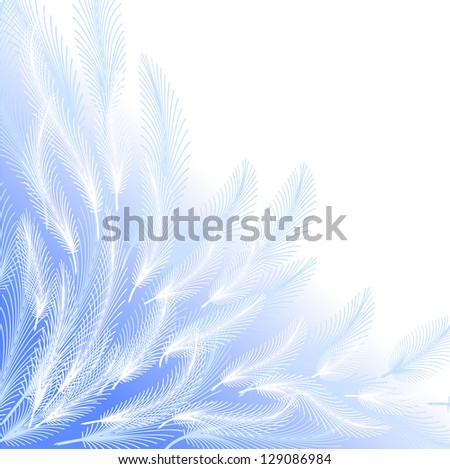 Feathers  background. Raster version. Vector is also available in my gallery - stock photo