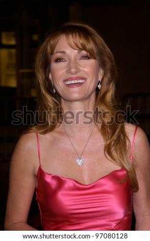 Feb 14, 2005; Los Angeles, CA: Actress JANE SEYMOUR at the world premiere of Be Cool, at the Grauman's Chinese Theatre, Hollywood.