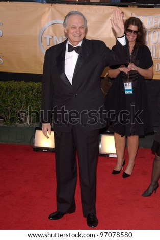 Feb 06, 2005: Los Angeles, CA: ALAN ALDA at the 11th Annual Screen Actors Guild Awards at the Shrine Auditorium.