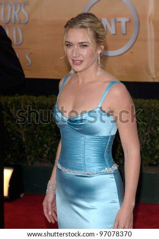Feb 06, 2005: Los Angeles, CA: KATE WINSLET at the 11th Annual Screen Actors Guild Awards at the Shrine Auditorium.
