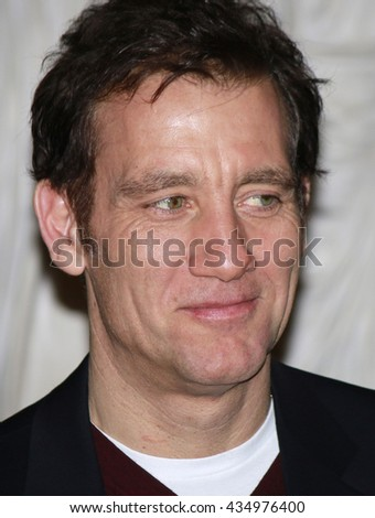 FEBRUARY 17, 2016 - BERLIN: Clive Owen at a reception of the Berlinale Jury, Rotes Rathaus.