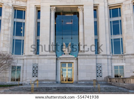 Federal courthouse in Montgomery, Alabama