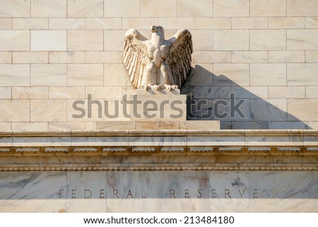 Federal Reserve Building, Washington DC, USA. - stock photo