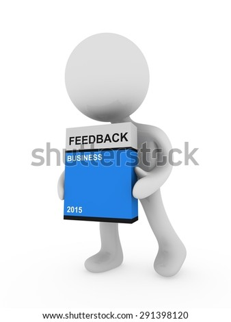 feedback box - stock photo