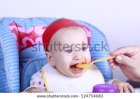 Feeding child can be fun