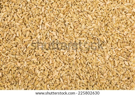 Feekeh, cereal grain made from roasting green wheat. - stock photo