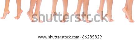 Feet Care Isolated - stock photo