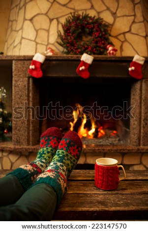 Fireplace Logs Stock Photos Royalty Free Images Vectors