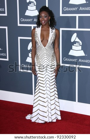 Fela Hettie Barnhill at the 53rd Annual Grammy Awards, Staples Center, Los Angeles, CA. 02-13-11