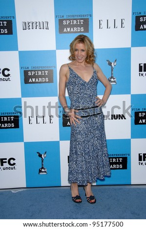 Felicity Huffman at Film Independent's 22nd Spirit Awards on the beach at Santa Monica, California. February 24, 2007 Santa Monica, CA Picture: Paul Smith / Featureflash