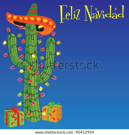 Mexican christmas stock images royalty free images for Cactus de navidad
