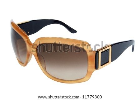 female accessory. glasses isolated on white - stock photo