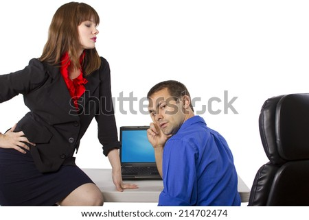 female coworker flirting signals How to tell when a woman is flirting with you because home / attraction / is she flirting, or just being she sees me leaving with a female co-worker who.