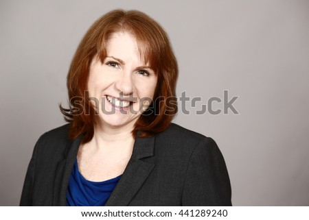 female executive woman smiling