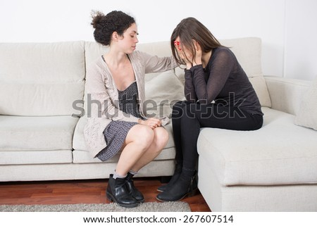 Female friendship - stock photo