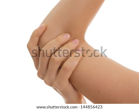 Female joint,pain concept