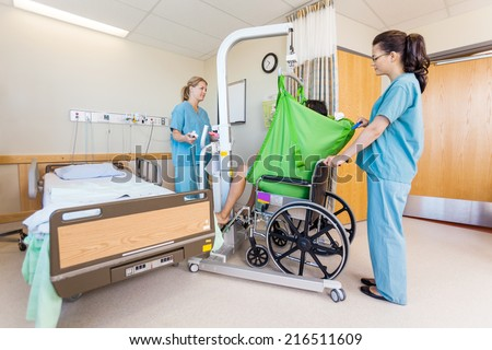 transferring patient from bed to wheelchair pdf