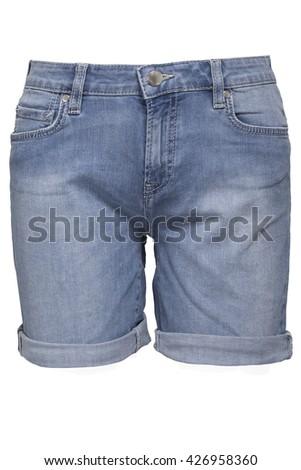 Female shorts - stock photo