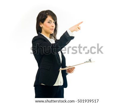 female woman model isolated white background