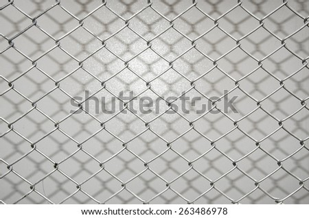 fence of cage for the security - stock photo