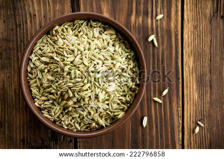 Fennel seeds - stock photo