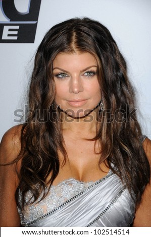 Fergie at The Recording Academy and Clive Davis Present The 2010 Pre-Grammy Gala - Salute To Icons, Beverly Hilton Hotel, Beverly Hills, CA. 01-30-10 - stock photo