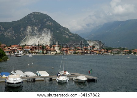 Feriolo di Baveno at the shore of Lago Maggiore