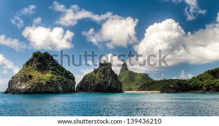 Fernando de Noronha - Brazil - stock photo