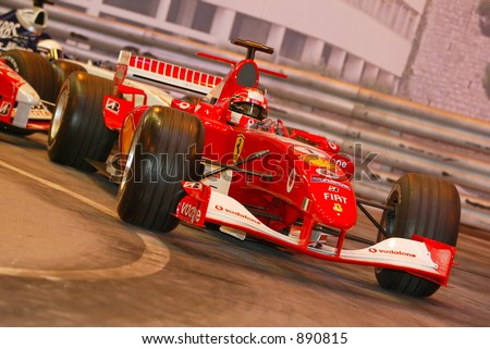 Ferrari Formula 1 racing car