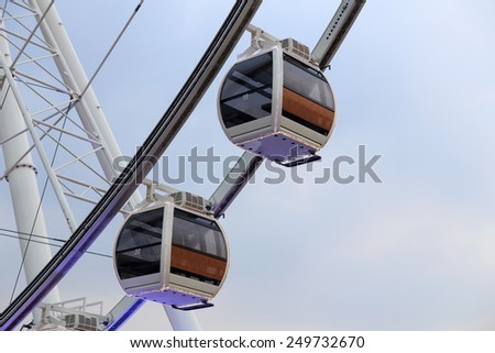 Ferris Wheel. - stock photo