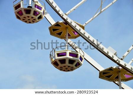 Ferris Wheel in Vienna - stock photo