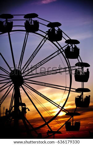 Carnival Rides Stock Images, Royalty-Free Images & Vectors ...