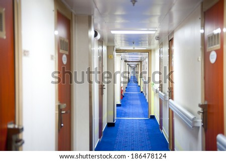 Ferry cruise - stock photo