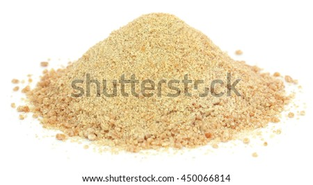 Ferula assafoetida or Hing spice of Indian subcontinent - stock photo