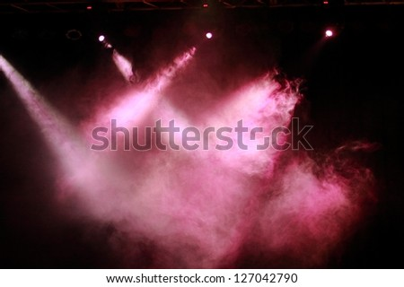 Festival lighting - stock photo