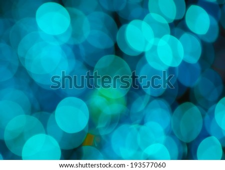 Festive  background with bokeh lights, for design