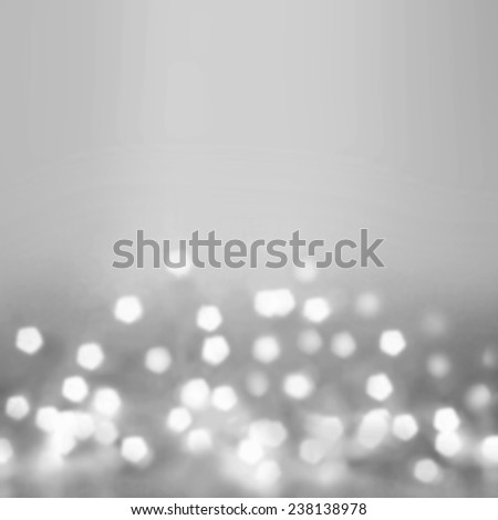 Festive  blur background. Abstract twinkled bright background with bokeh defocused golden  lights - stock photo