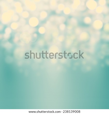 Festive blur background with natural bokeh and bright golden lights. Abstract Christmas twinkled bright background with boke defocused golden lights  - stock photo