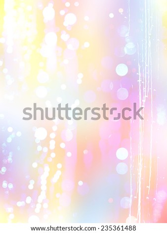 Festive bokeh background, Abstract background with bokeh defocused lights - stock photo