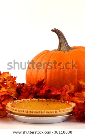 Festive Fall Dessert - stock photo