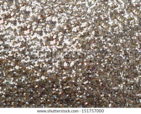 Festive glitter background - stock photo