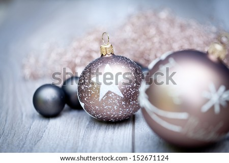 festive glitter christmas decoration bauble seasonal winter holidays