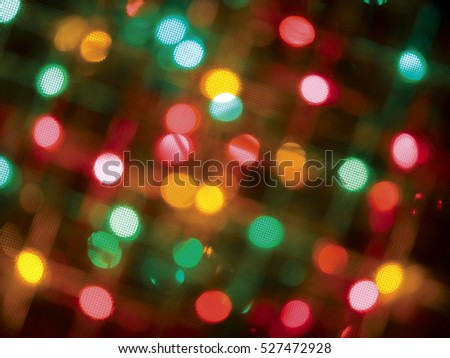 Festive holiday background of Christmas lights