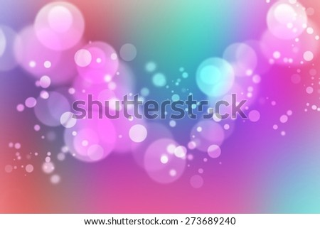 Festive holidays elegant blue red blue green pink purple violet white abstract background with beautiful glitter twinkling bokeh - stock photo