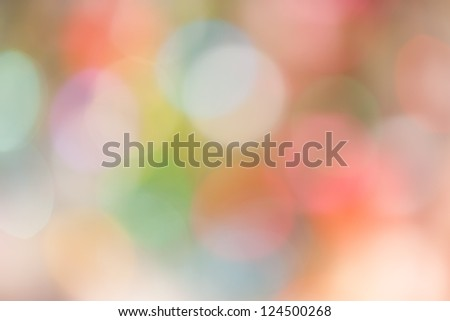 Festive lights. Can be used as background - stock photo
