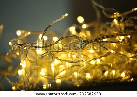 Festive shiny background - stock photo